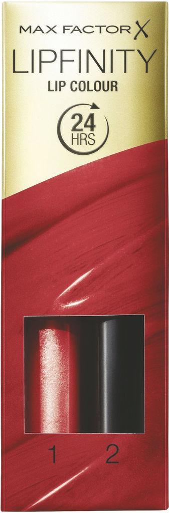 Šminka Max Factor, Lipfinity, dolgoobstojna z balzamom, 120