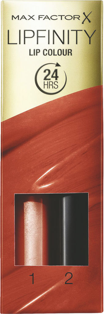 Šminka Max Factor, Lipfinity, dolgoobstojna z balzamom, 140
