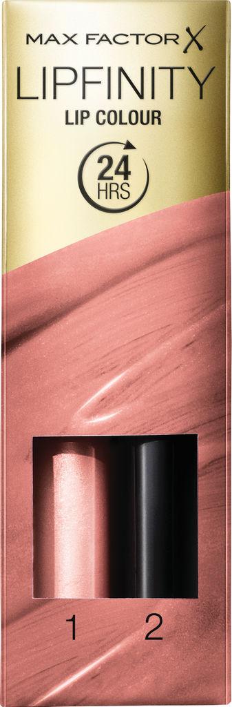 Šminka Max Factor, Lipfinity, dolgoobstojna z balzamom, 160
