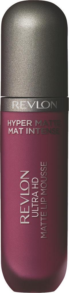 Rdečilo za ustnice tekoče Revlon Ultra HD Mousse Hyper Matte Rocky Plum845