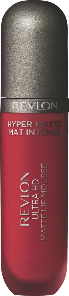 Rdečilo za ustnice tekoče Revlon Ultra HD Mousse Hyper Matte Red Hot 815