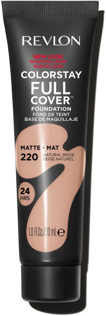 Puder tekoči Revlon, Color Stay Full cover – Natura Matt 220, 30 ml