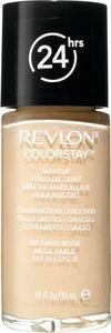 Puder Revlon, ColorStay, tekoči, za mešano do mastno kožo, sand beige 180