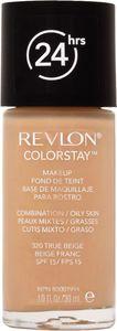 Puder Revlon, ColorStay, tekoči, za mešano do mastno kožo, true beige 320