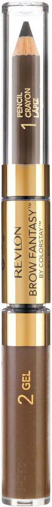 Svinčnik in gel za obrvi Revlon Brow Fantasy – Brunette 210