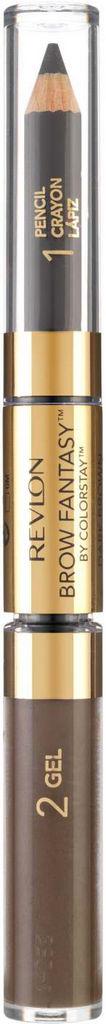 Svinčnik in gel za obrvi Revlon Brow Fantasy – Dark Brown 220