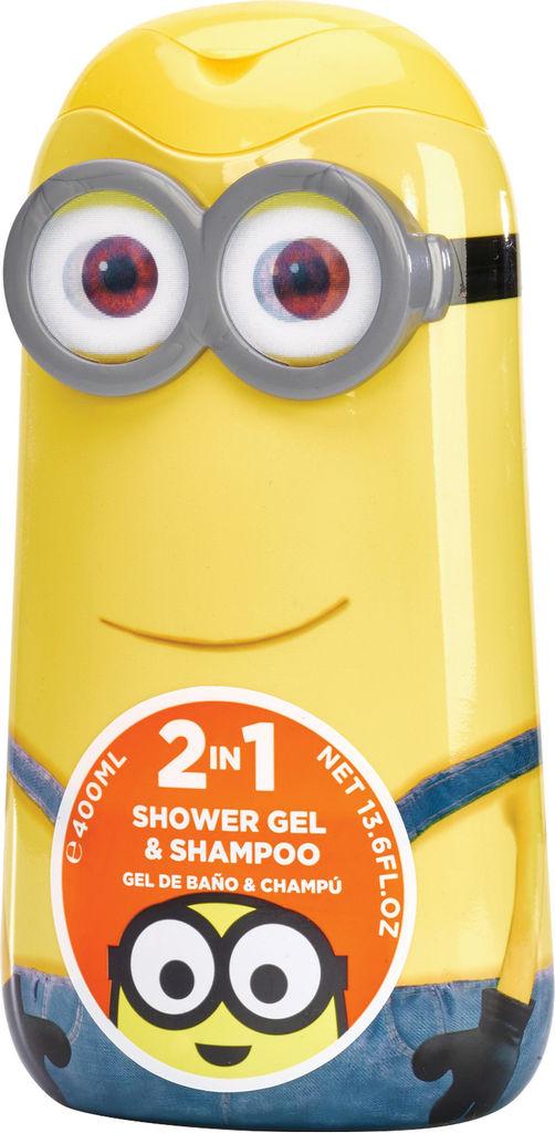 Gel za prhanje & šampon Minions, 400 ml