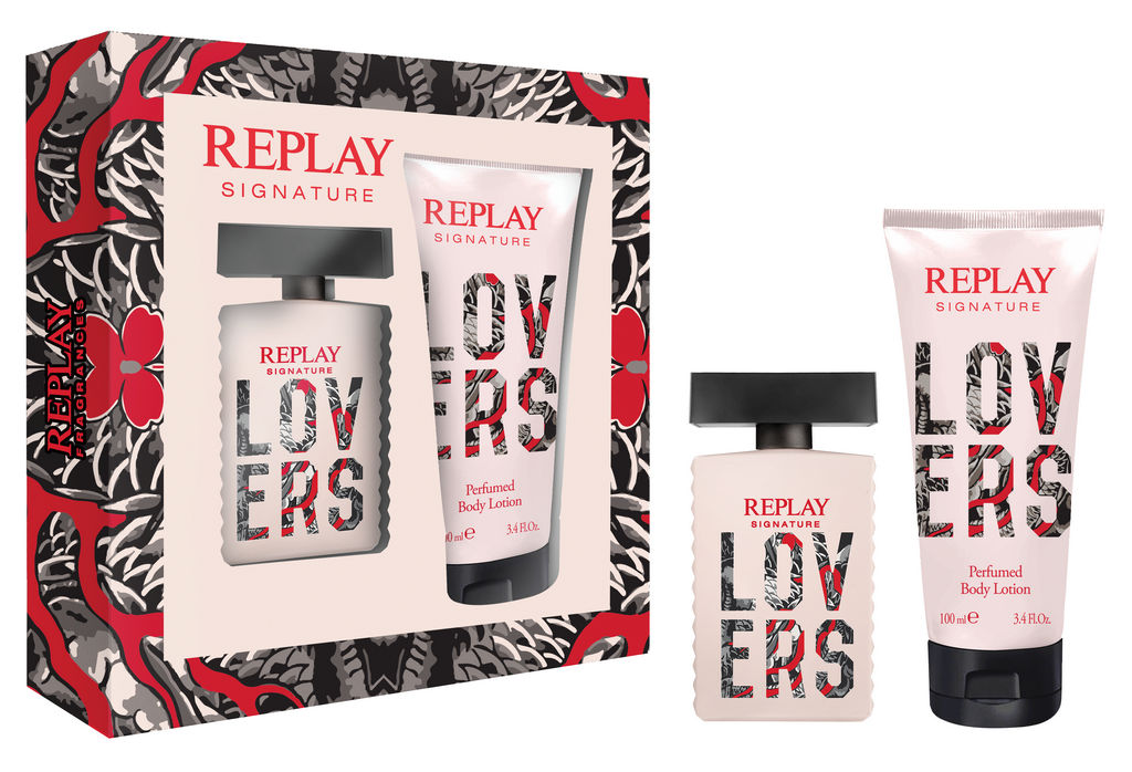 Darilni set Replay, Lovers for woman 30 ml + body lotion 100 ml