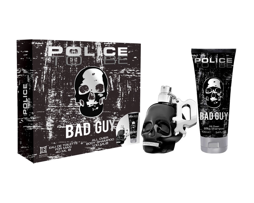 Darilni set Police, To Be, Bad Guy, moški, EDT 40 ml + gel za prhanje 100 ml