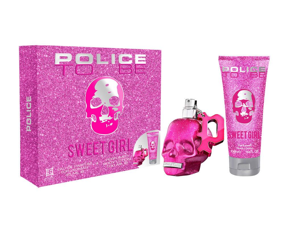 Darilni set Police, To Be, Sweet Girl, ženski, EDP 40 ml + losjon za telo 100 ml