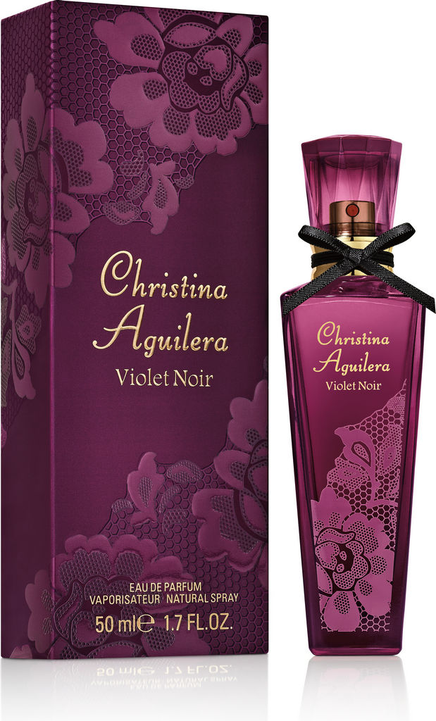 Parfumska voda Christina Aquilera, Violet noir, ženska, 50ml