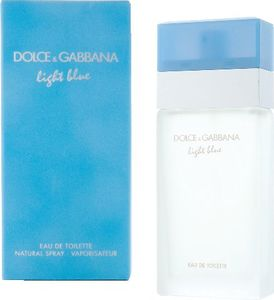 Toaletna voda Dolce & Gabbana, Light Blue, ženska, 50ml