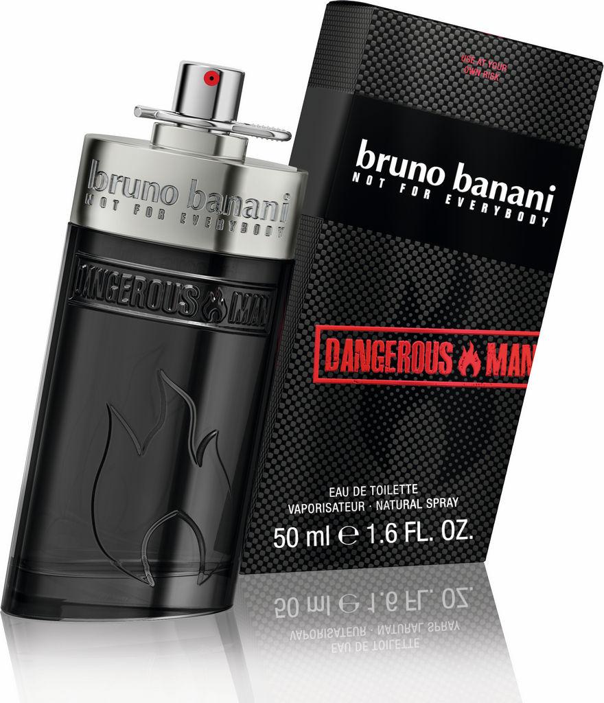 Toaletna voda Bruno Banani, Dangerous, moška, 50ml