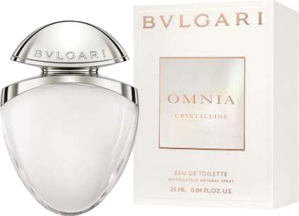 Toaletna voda Bvlgari, Omnia Crystalline, ženska, 25 ml