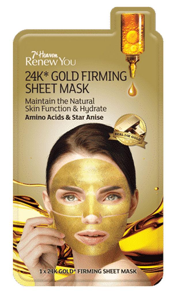 Maska 7TH Heaven, 24K*Gold Firming