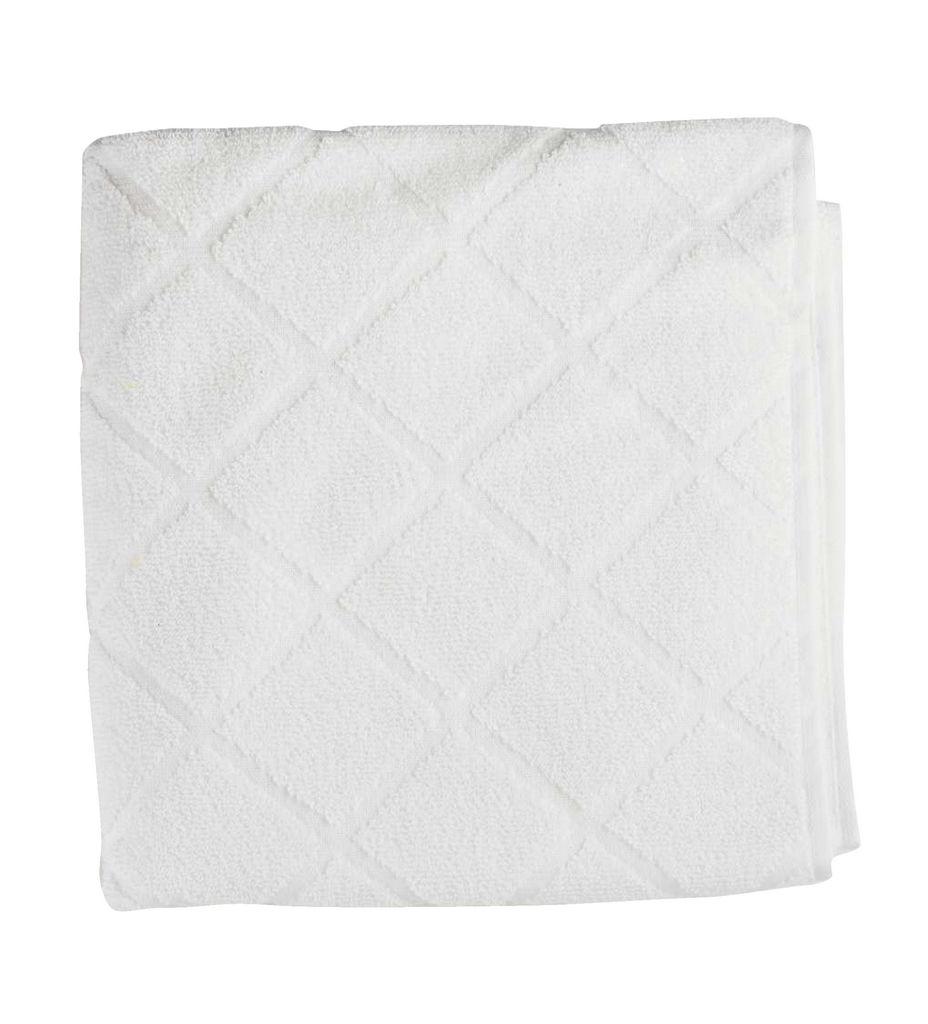Brisača Decosir, Peony, bela, 50x100cm