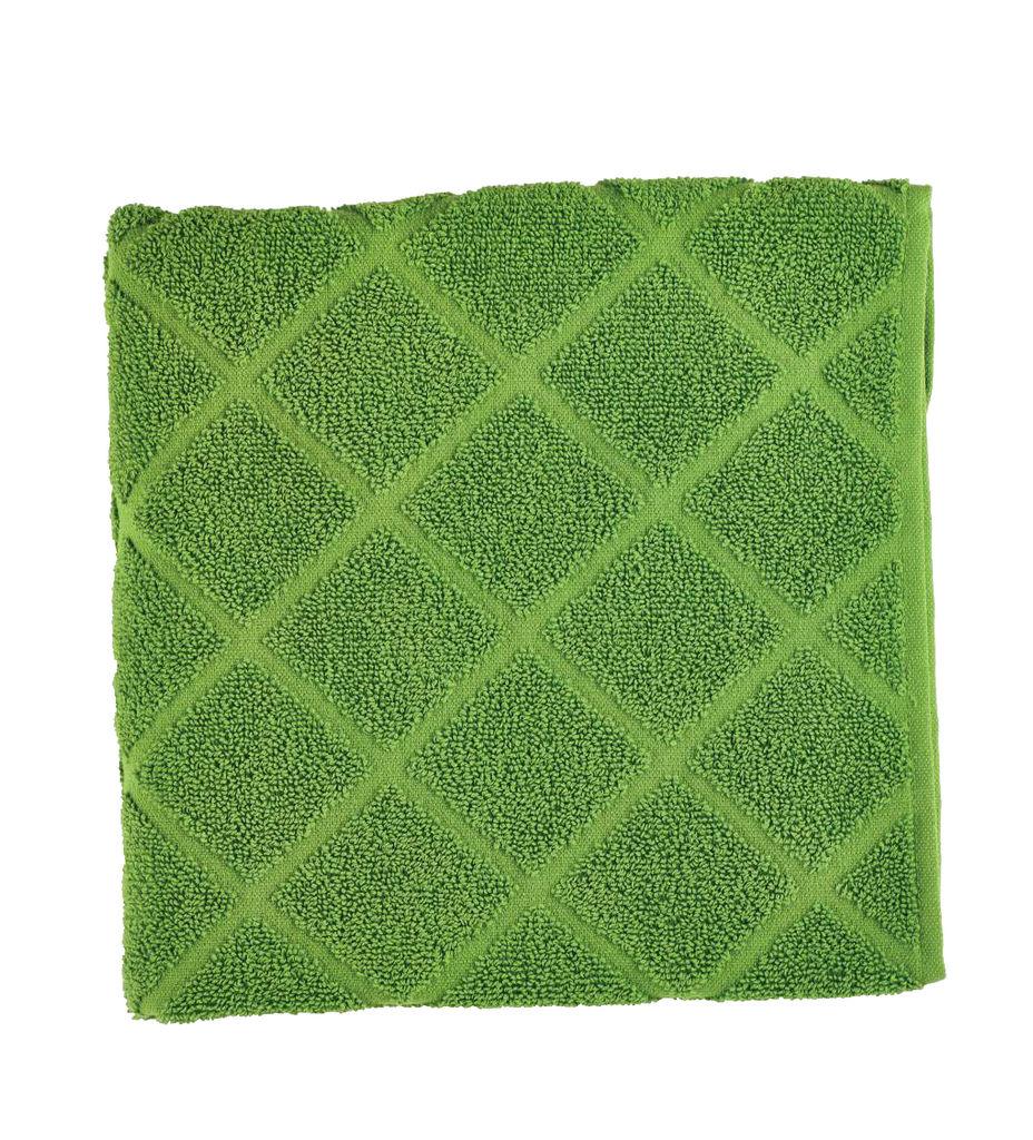 Brisača Decoris, Peony, zelena, 50x100cm