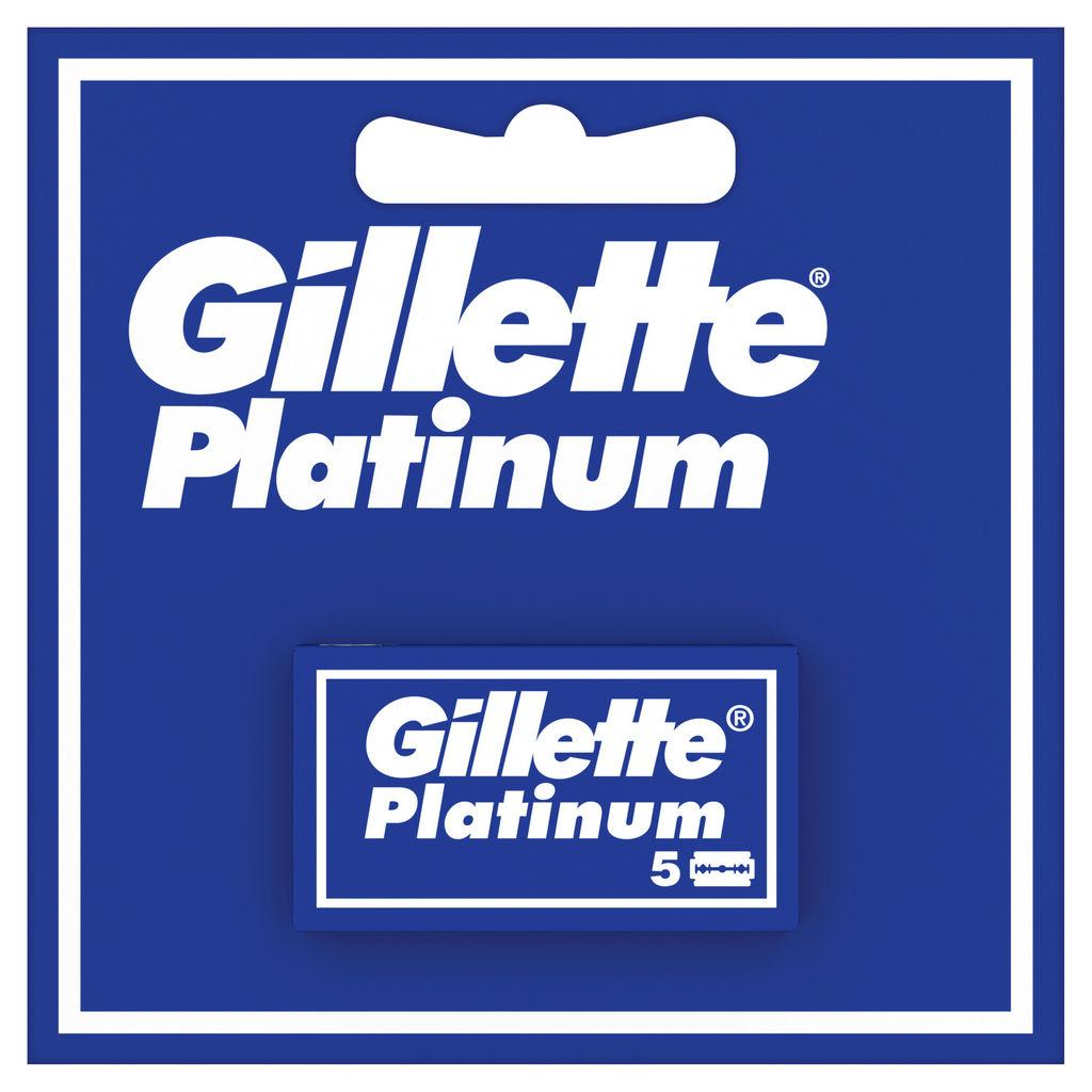 Vložki Gillette platinum, 5/1