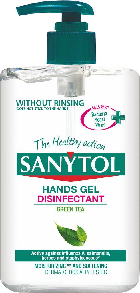 Gel za dezinfekcijo rok Sanytol, 250ml