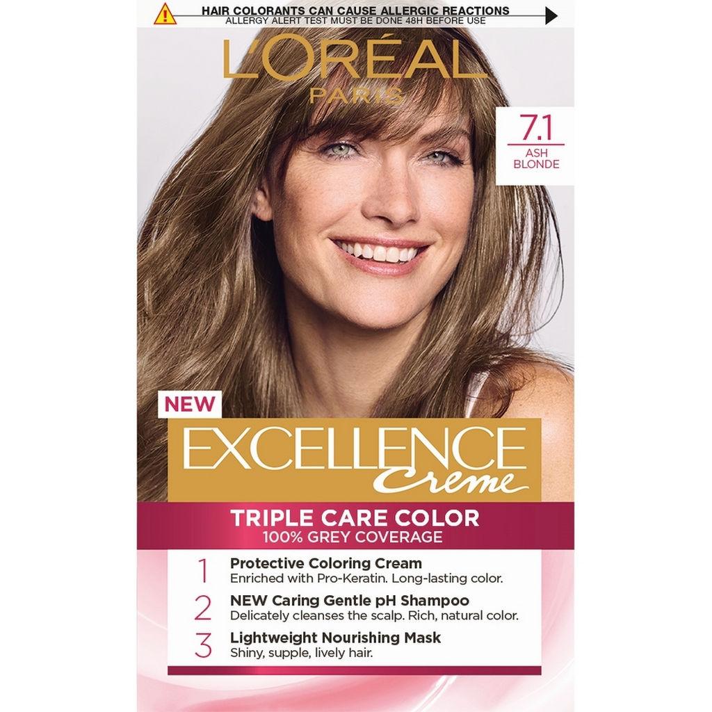 Barva za lase L'Oreal Excellence 7.1