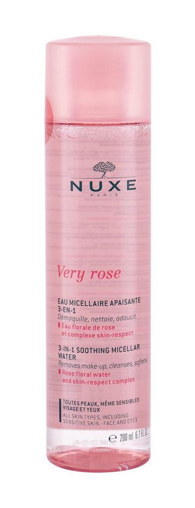 Micelarna voda Nuxe, Very Rose, 3 in 1, 200 ml