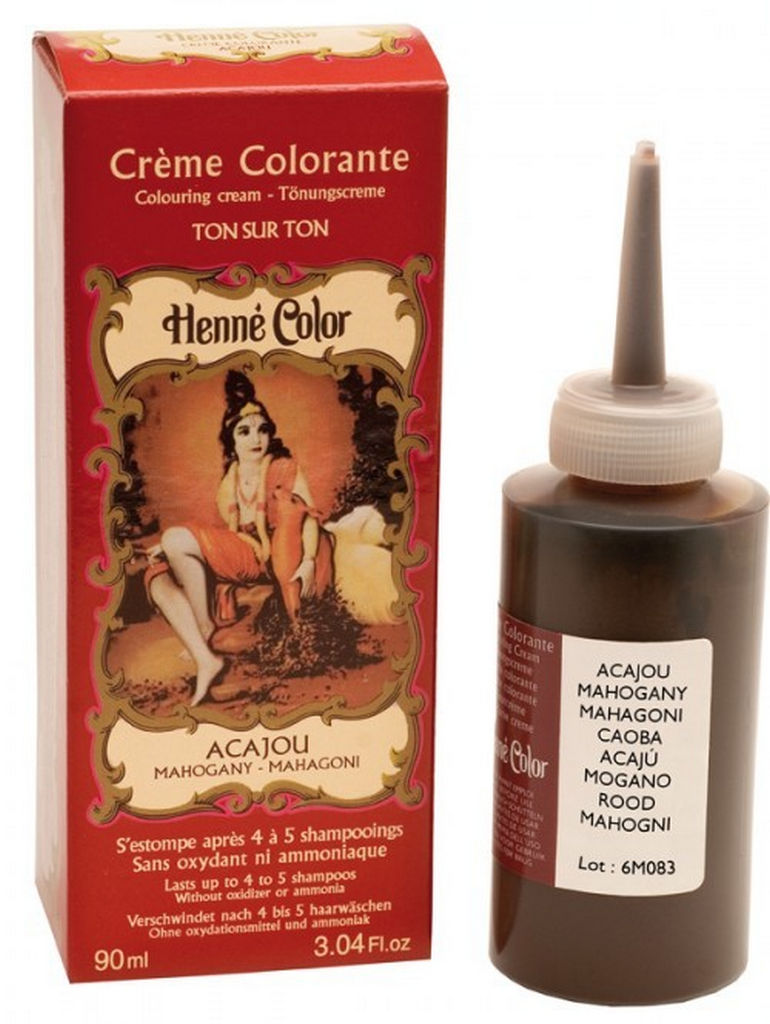 Kana Henne color krem mahagoni, 90ml