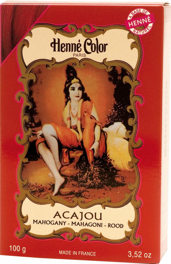 Kana Henne color francoski mahagoni, 100g