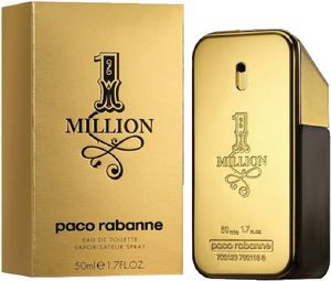 Toaletna voda Paco Rabanne, 1 Million, moška, 50ml