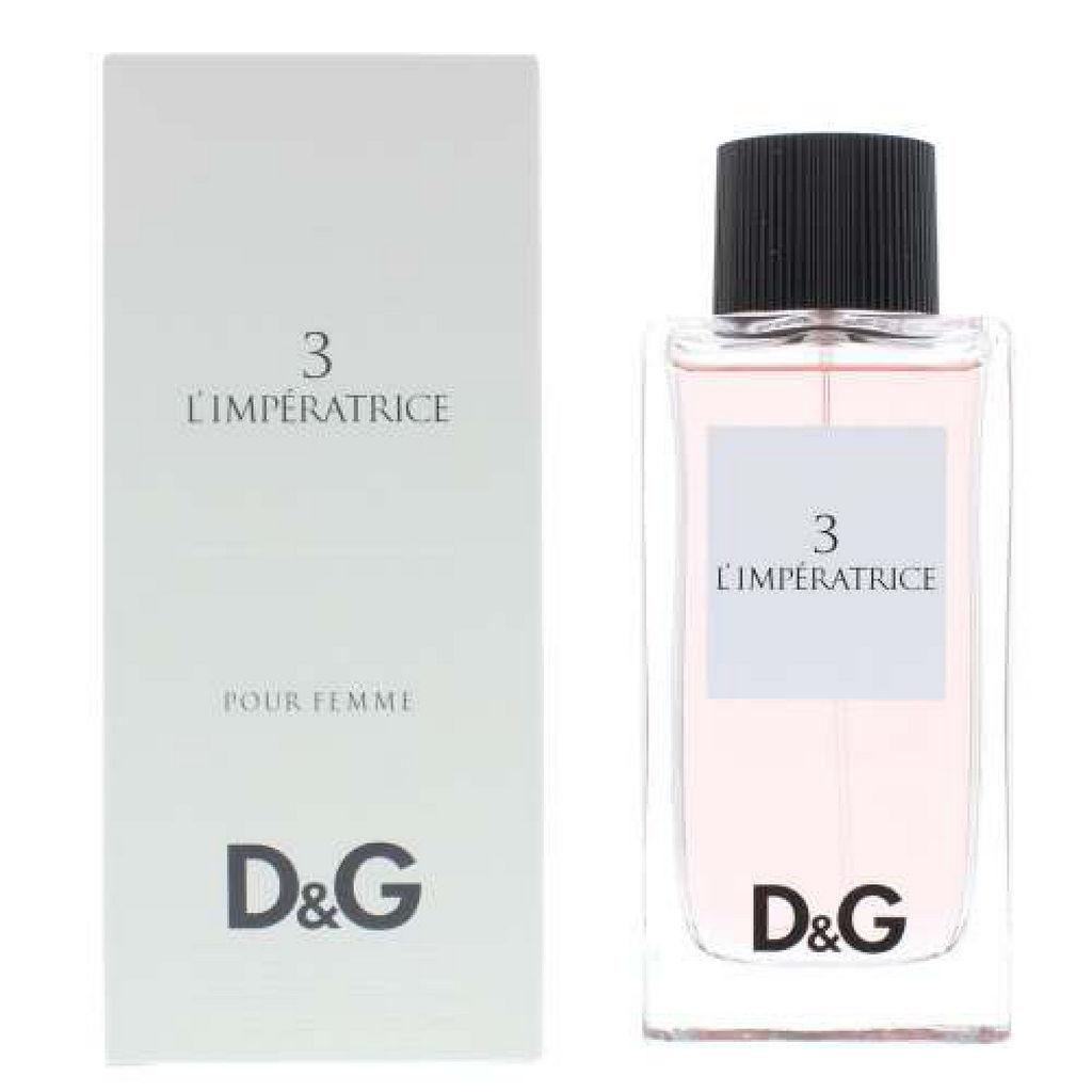 Toaletna voda Dolce & Gabbana, 3 L'imperatrice, ženski, 100 ml