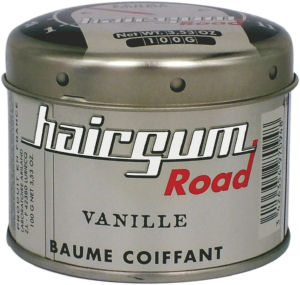 Vosek za lase Hairgum road, vanilija, 100 g