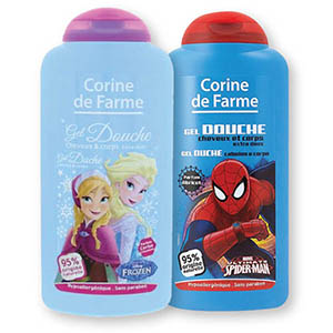 Gel za prhanje H&B Spiderman, za fantke, 250ml