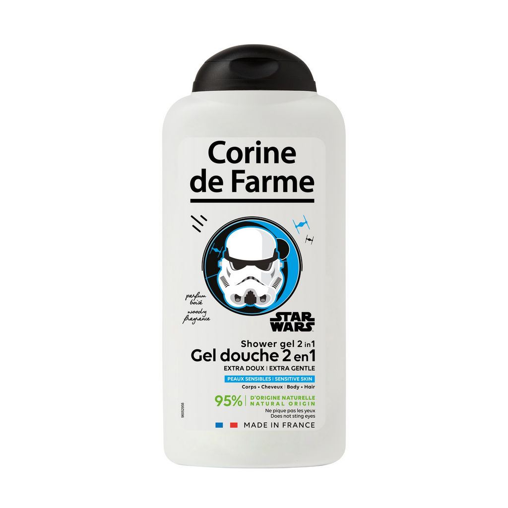 Šampon in tušgel Starwars, 300 ml