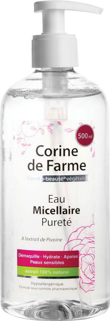 Micelarna vodica Corine de Farme, Purity, 500 ml