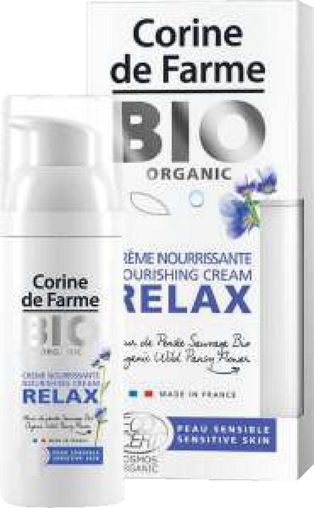 Krema za obraz Corine de Farme Bio Organic Relax, 50ml