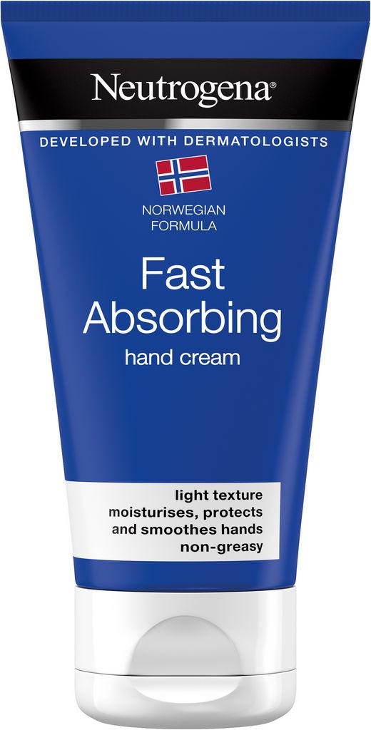 Krema za roke Neutrogena, Fast absorbing, 75 ml