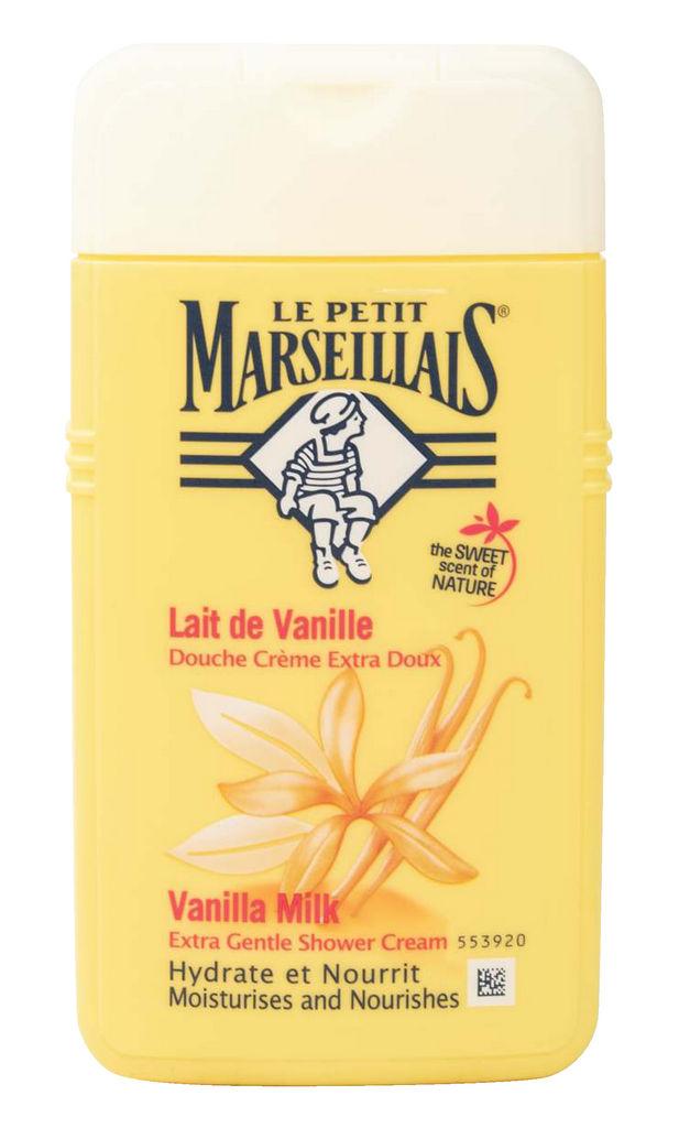 Gel za prhanje LPM, vanilijevo mleko, 250ml