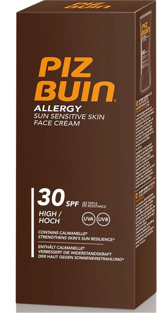 Krema Piz Buin, Allergy za obraz, ZF30, 50ml