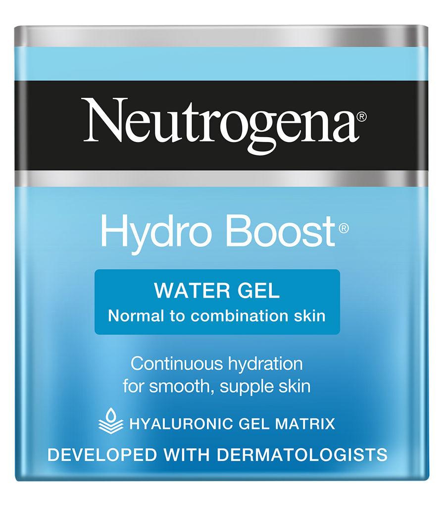 Gel vodni za obraz Neutrogena, Hydra boost, normalna/mešana koža, 50 ml