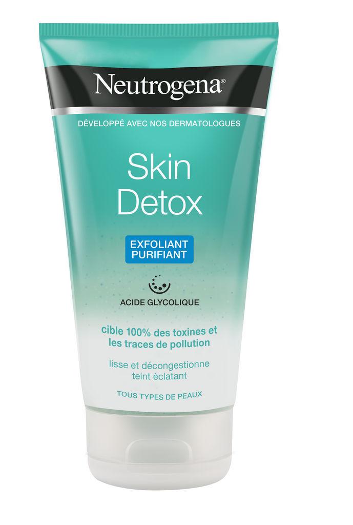 Piling za obraz Neutrogena skin detox hladilni, 150ml