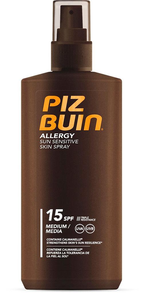 Sprej za sončenje Piz Buin, Allergy, ZF15, 200ml