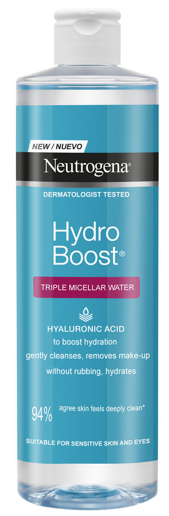 Miceralna voda Neutrogena, Hydra boost, 400 ml