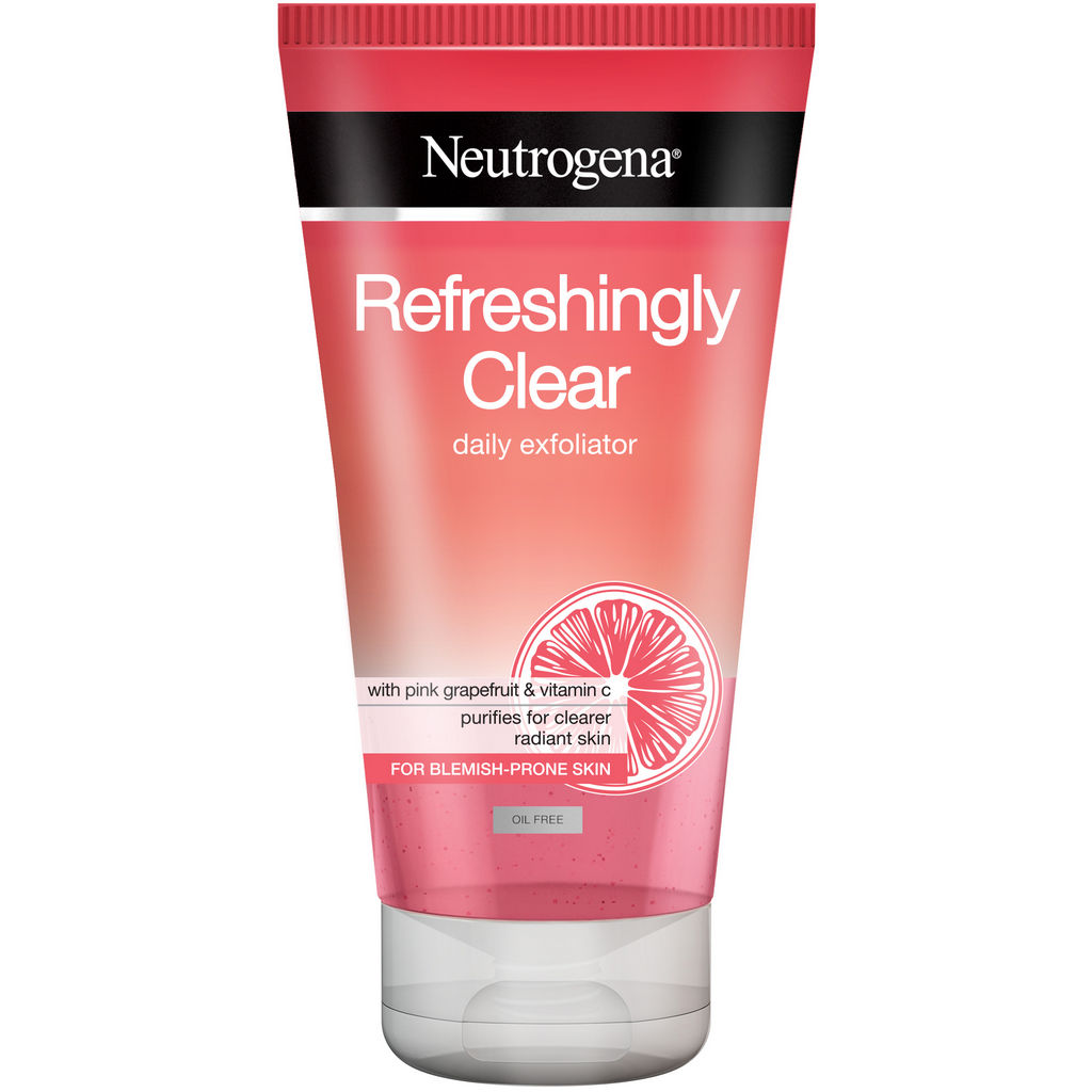 Piling za obraz Neutrogena, Visibly clear pink, 150 ml