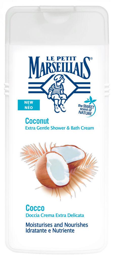 Gel za prhanje LPM, EXtra doux, kokos, 400ml
