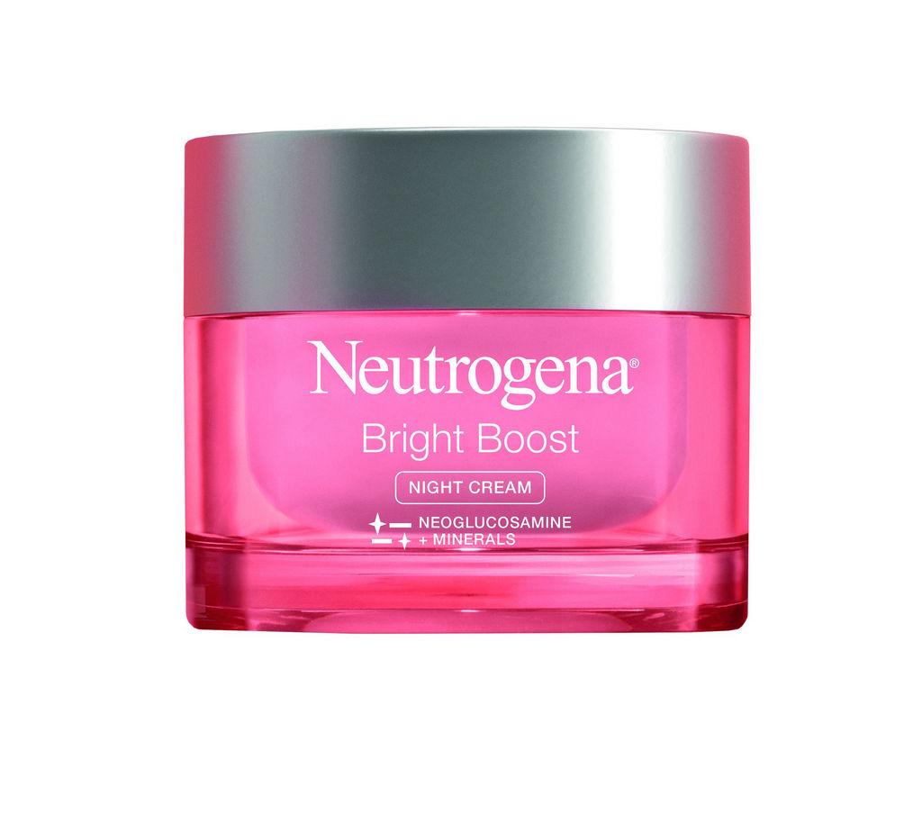 Krema za obraz Neutrogena, Bright Boost, nočna, 50 ml