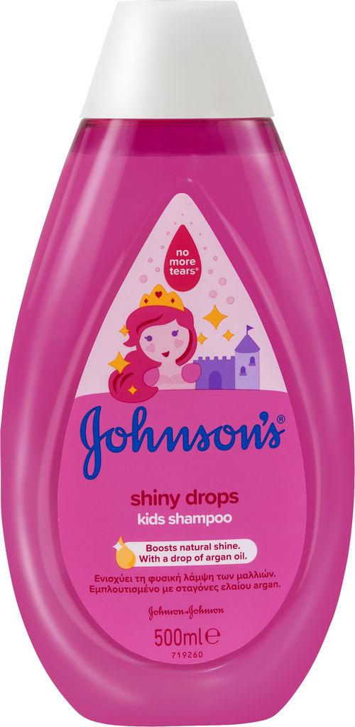 Šampon Johnson's, Shiny drops, 500ml