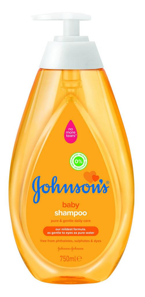 Šampon Johnson's, Gold, otroški, 750 ml