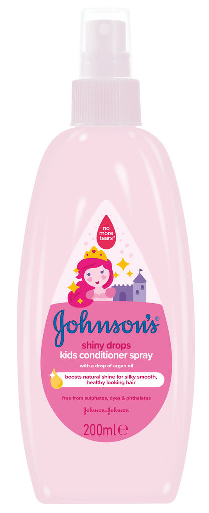 Balzam Johnson's, Shiny drops, 200ml