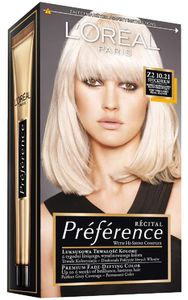Barva za lase L'Oreal Preference Recital 10.21