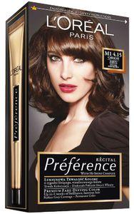 Barva za lase L'Oreal Preference Recital 4.1