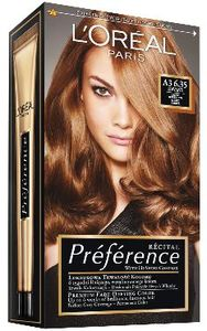Barva za lase L'Oreal Preference Recital 6,35 ambre clair